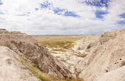 Badlands of south dakota, hdr Stock Photo