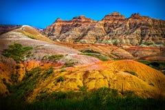 Badlands, South Dakota Stock Image