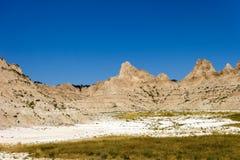 The badlands of south dakota Stock Images