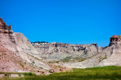 The badlands of south dakota Royalty Free Stock Photography