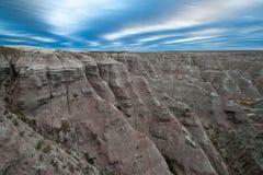 Badlands, south dakota. Sunrise Stock Photo