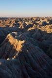 Badlands, south dakota. Sunrise Stock Photos