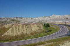 The badlands on the south side Royalty Free Stock Images
