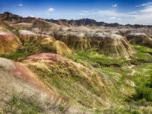Badlands In The Summer Royalty Free Stock Image