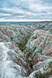 Badlands at sunrise, South Dakota, USA Stock Photography