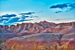 Badlands Territory Royalty Free Stock Image