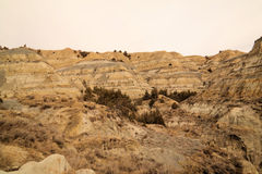 The badlands Royalty Free Stock Photography