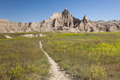 Badlands Royalty Free Stock Photography