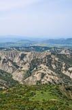 Badlands. Tursi. Basilicata. Italy. Stock Image