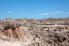 The Badlands Royalty Free Stock Images