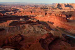 Badlands View - Dead Horse Point Stock Image