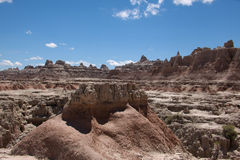 The Badlands. A view of the Badlands in South Dakota stock photos
