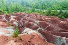 Badlands w Cheltenham, Ontario Obrazy Royalty Free