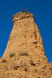 Badlands w Pontà ³ n de losie angeles Oliva, Hiszpania Obrazy Stock