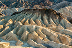 Badlands at Zabriskie Point Royalty Free Stock Photo