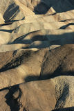 Badlands, Zabriskie Point, Death Valley National Park, USA Royalty Free Stock Photography