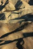 Badlands, Zabriskie-Punt, het Nationale Park van de Doodsvallei, de V.S. Stock Foto