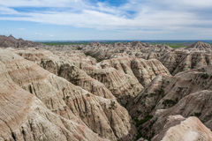 Badlands, Zuid-Dakota Royalty-vrije Stock Fotografie
