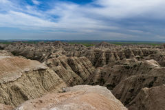 Badlands, Zuid-Dakota Stock Afbeeldingen