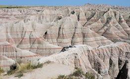 Badlands, Zuid-Dakota stock afbeeldingen