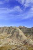 badlandsdakota nationalpark södra USA arkivfoto