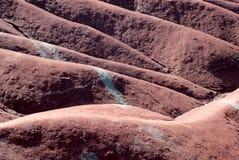 Badlandsdyn för röd lera Royaltyfri Fotografi