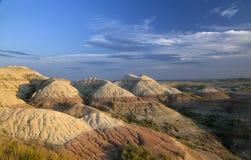 Badlandsnationalpark i South Dakota, nära väggen, South Dakota royaltyfri foto