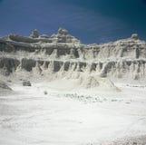 Badlandsnationalpark - South Dakota Arkivfoto
