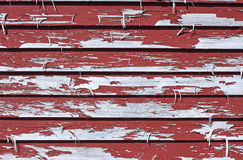 Badly peeling paint Stock Images