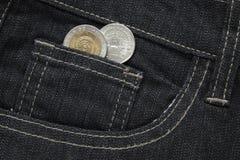 Badmünzen Stockfoto