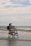 Badmeester Stand Stock Fotografie