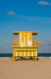 Badmeester Tower, het Strand van Miami Royalty-vrije Stock Foto