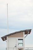 Badmeester Tower op Strand Royalty-vrije Stock Afbeeldingen
