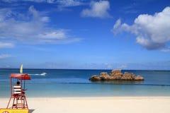 Badmeestertoren in Araha-strand Royalty-vrije Stock Fotografie