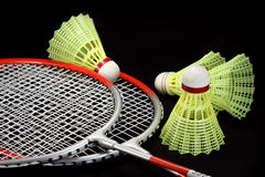 Badminton stockfoto