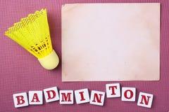 Badminton Image stock