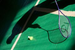 Badminton foto de stock royalty free