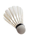 Badminton. With white background close up Royalty Free Stock Photography