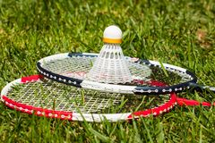 Badminton Fotos de Stock Royalty Free