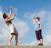 Badminton Stock Photos