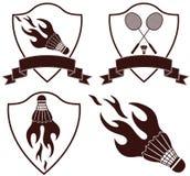 badminton stock illustratie