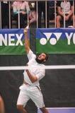Badminton - Aamir Ghaffar ENG Royalty-vrije Stock Foto