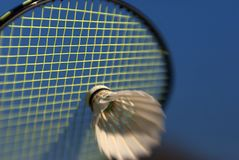 Badminton abstract Royalty Free Stock Photography