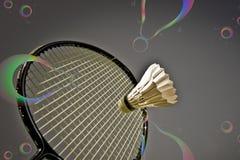 Badminton abstrakt fotografia stock