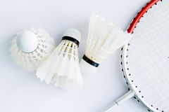 Badminton accessories. For exercise and competition Royalty Free Stock Photography