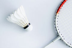 Badminton accessories Royalty Free Stock Photography