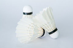 Badminton accessories Royalty Free Stock Photos
