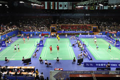 Badminton asia championships 2011 Stock Photo