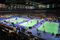 Badminton asia championships 2011 Stock Photography