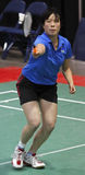 Badminton australia woman speed Stock Photography